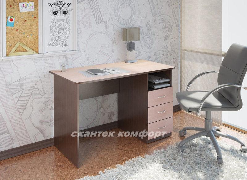 Письменный стол Скантек комфорт Альфа СТ-104 - фото 1
