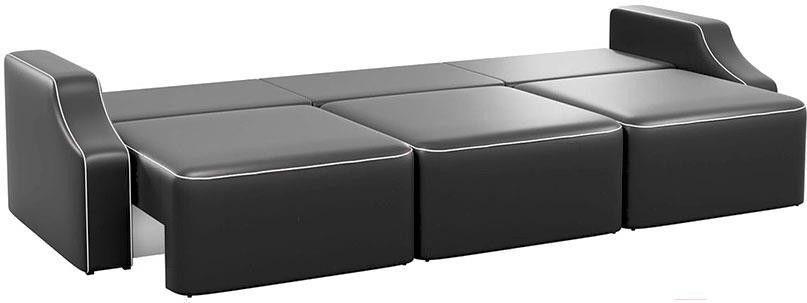 Диван Mebelico Триумф Long Slide 59 экокожа черный [59398] - фото 4