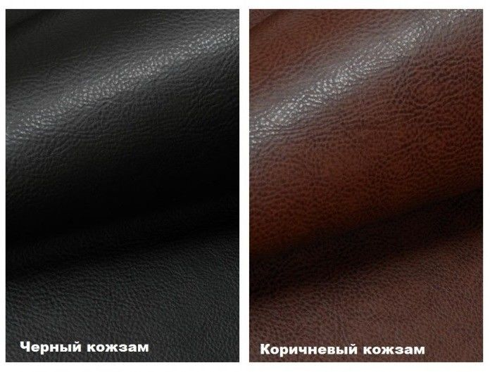 Диван Кристалл Аккордеон выкатной (60x195) коричневая экокожа - фото 2