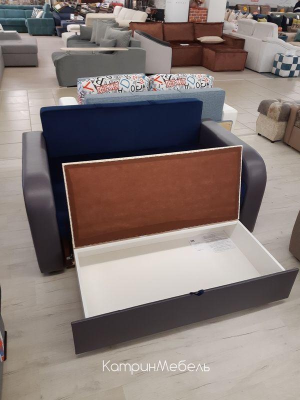 Диван DM-мебель Сиеста (синий/буквы) - фото 2