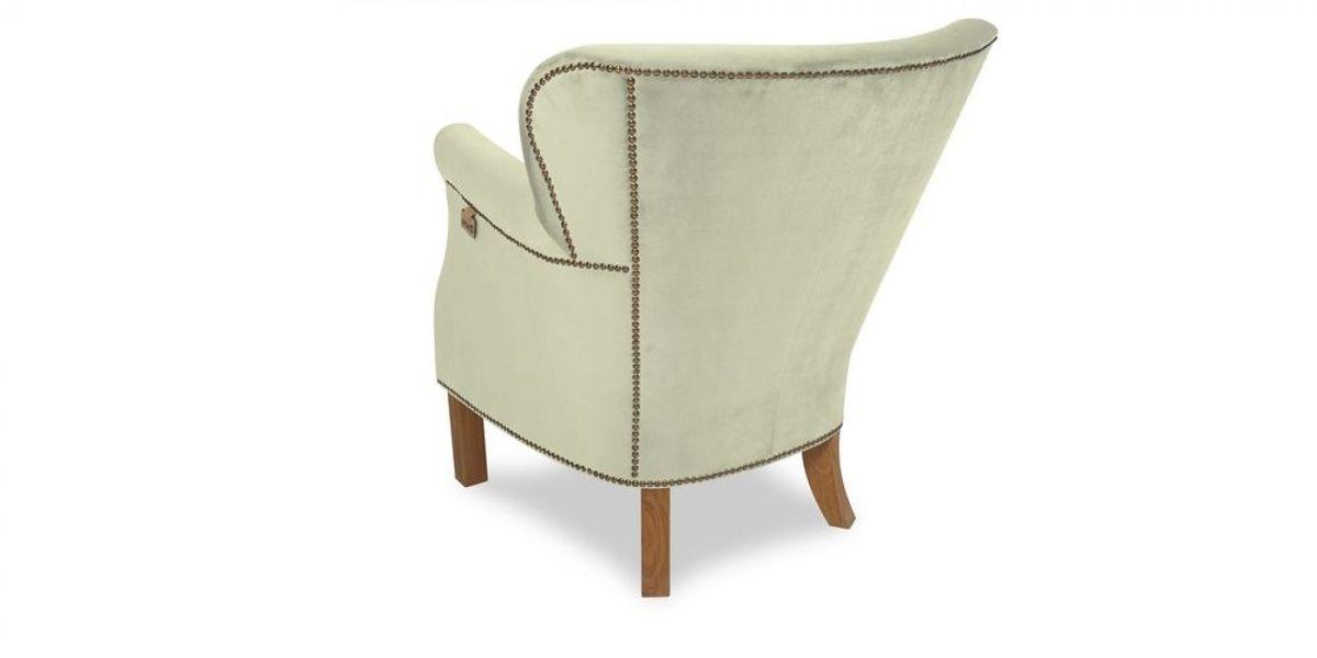 Кресло WOWIN Голден (Кремовый велюр) - фото 4