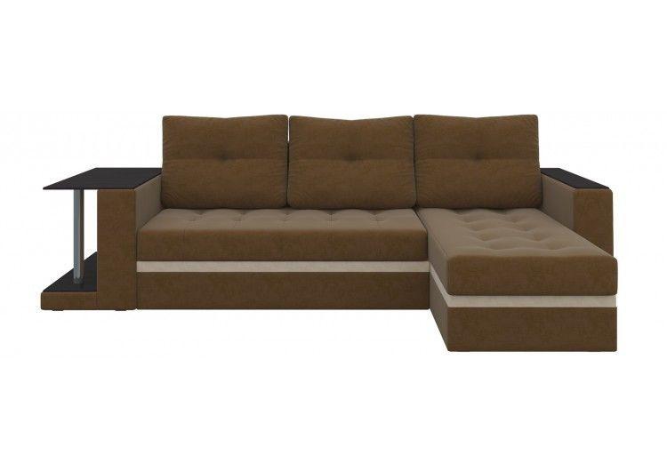 Диван Craftmebel Атланта М (коричневый) - фото 1