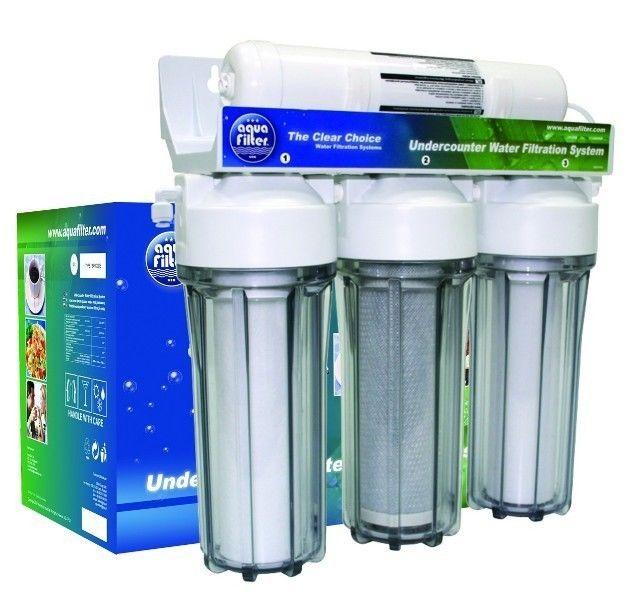 Фильтр для очистки воды Aquafilter Питьевые системы под мойку FP3-HJ - фото 1