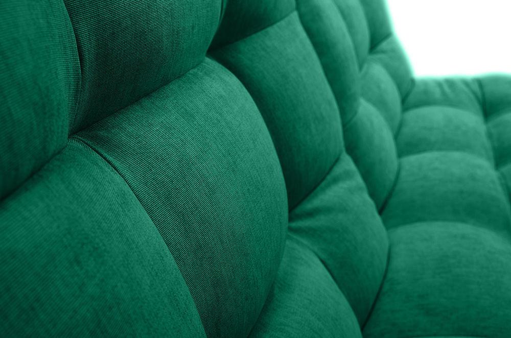 Диван Woodcraft Бонс Velvet Emerald прямой - фото 11