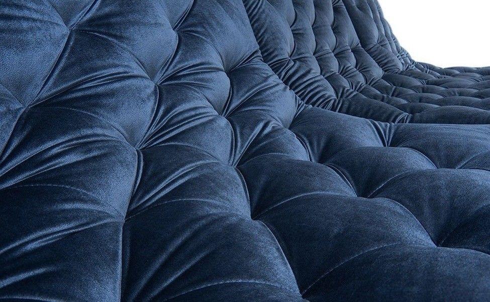 Диван Woodcraft Прямой Монреаль Премиум Barhat Blue - фото 5