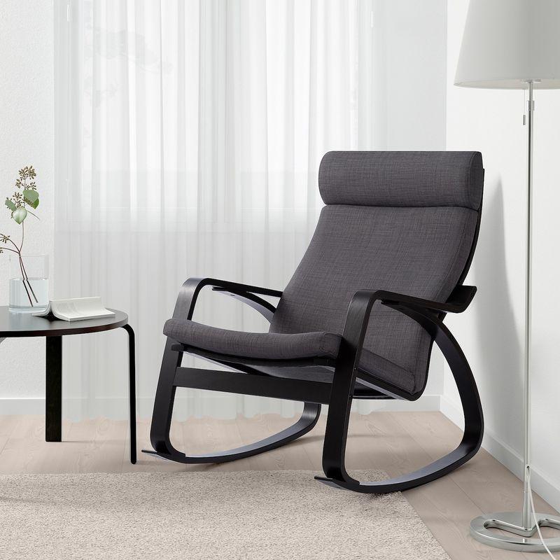 Кресло IKEA Поэнг 693.028.25 - фото 3
