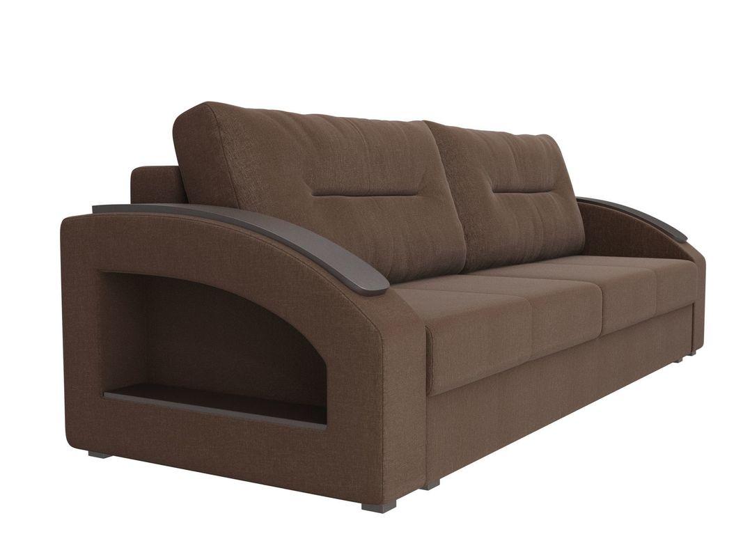 Диван ЛигаДиванов Канзас 100965 рогожка коричневый - фото 2
