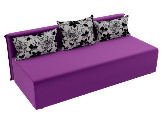 Диван ЛигаДиванов Кесада 101793 микровельвет фиолетовый - фото 2