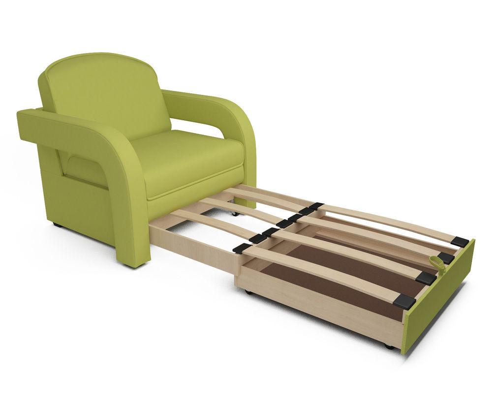 Кресло Мебель-АРС Кармен-2 зеленый (рогожка) - фото 5