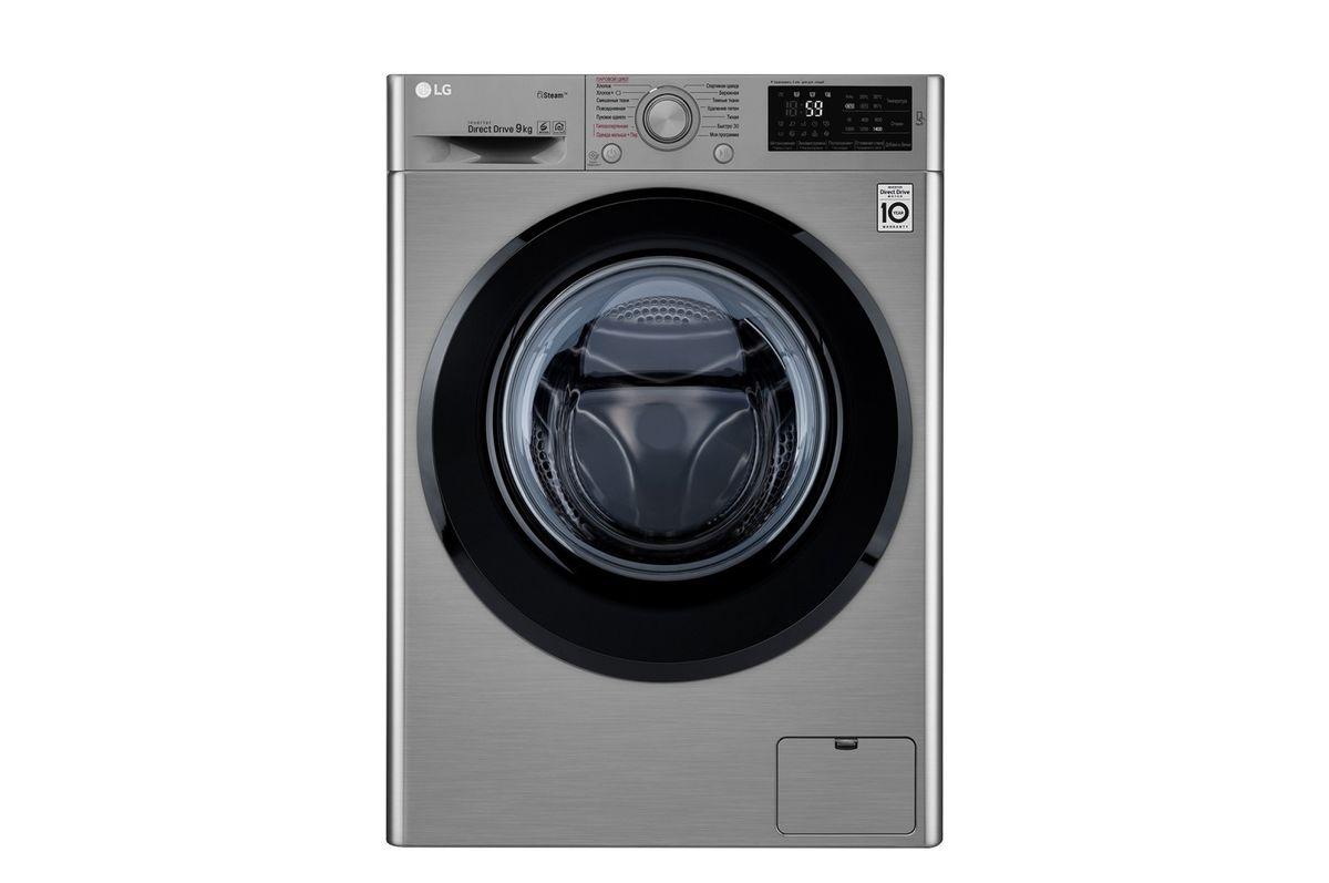 Стиральная машина LG F4M5VS6S - фото 1