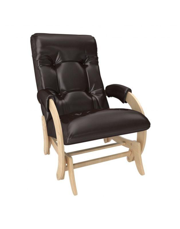 Кресло Impex Кресло-гляйдер Модель 68 экокожа натуральный (oregon 120) - фото 1