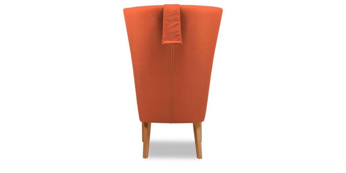 Кресло WOWIN Элеганза высокое (Терракотовый велюр) - фото 5