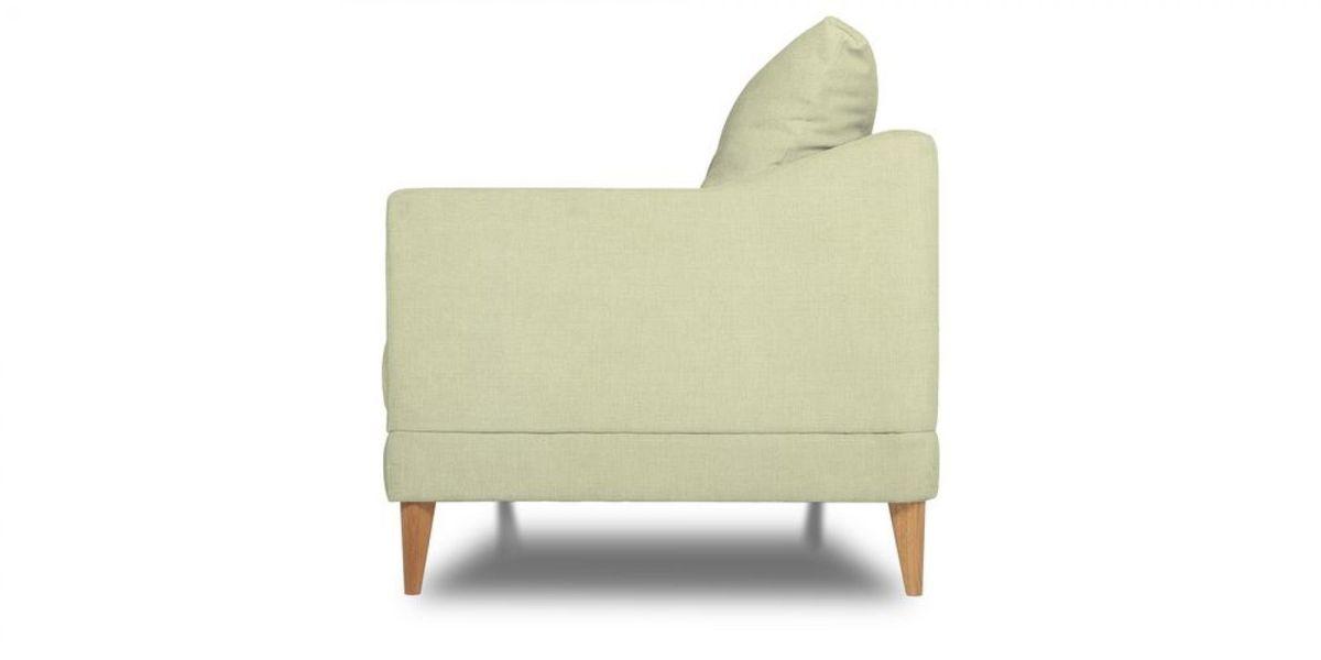 Кресло WOWIN Полар (Молочный велюр) - фото 3
