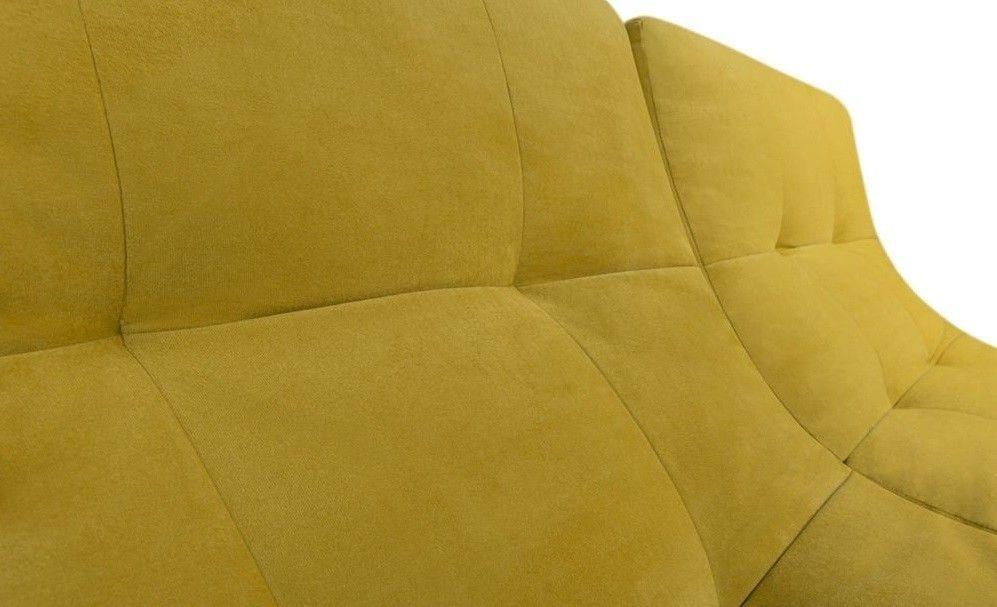 Диван Woodcraft Прямой Монреаль Velvet Yellow - фото 3