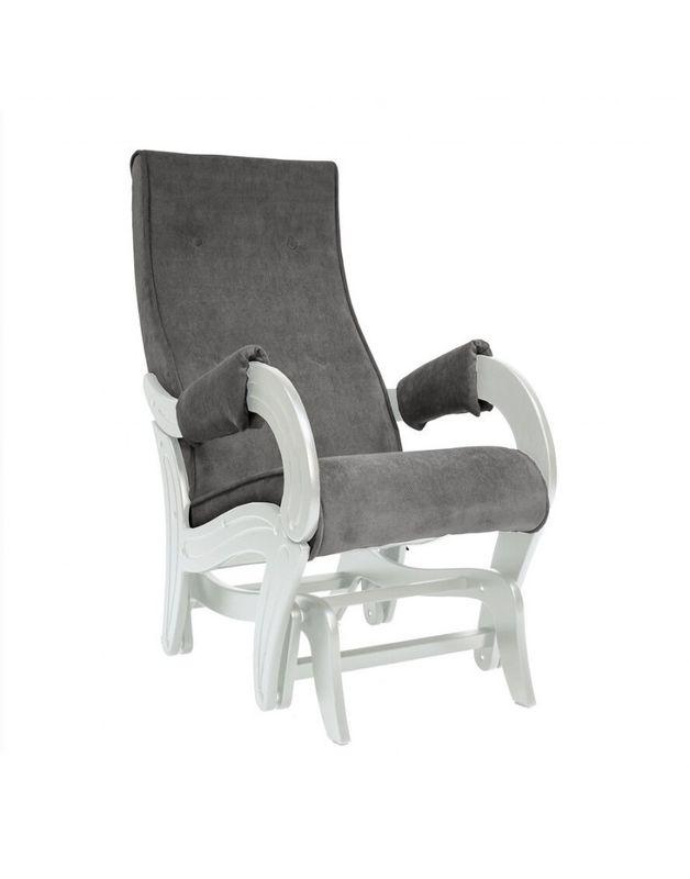 Кресло Impex Кресло-гляйдер Модель 708 Verona сливочный (Antrazite grey) - фото 1