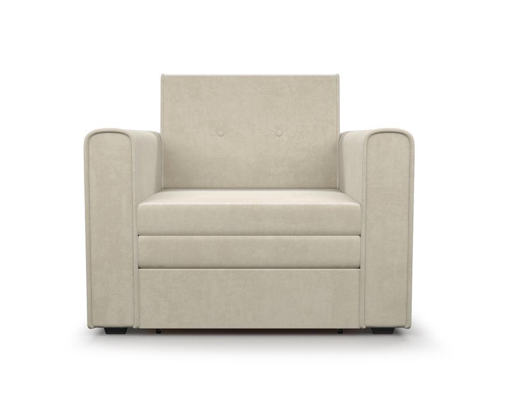 Кресло Мебель-АРС Санта (бархат бежевый) - фото 3