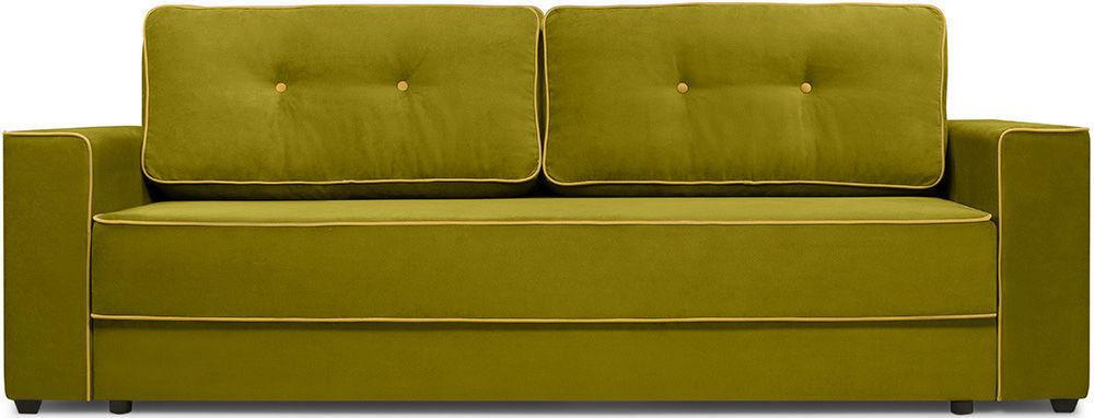 Диван Woodcraft Менли НПБ холлофайбер Velvet Lime - фото 1