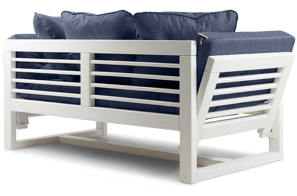 Диван Woodcraft Кушетка Балтик Textile Blue - фото 9