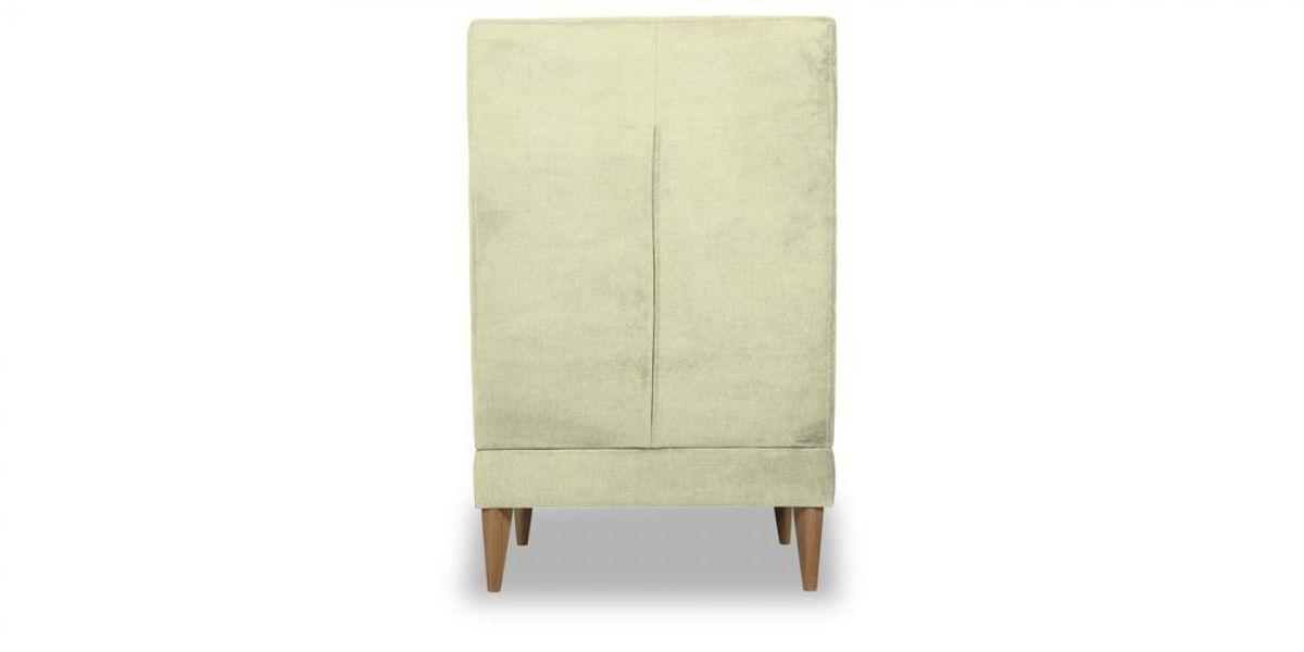 Кресло WOWIN Полар высокое (Молочный велюр) - фото 5