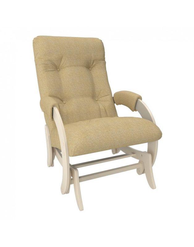 Кресло Impex Кресло-гляйдер Модель 68 Мальта сливочный (Мальта 15) - фото 3