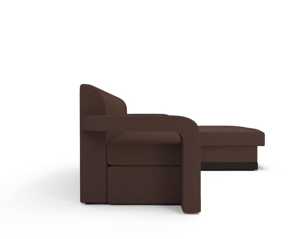 Диван Мебель-АРС Сенатор (рогожка шоколад) - фото 3