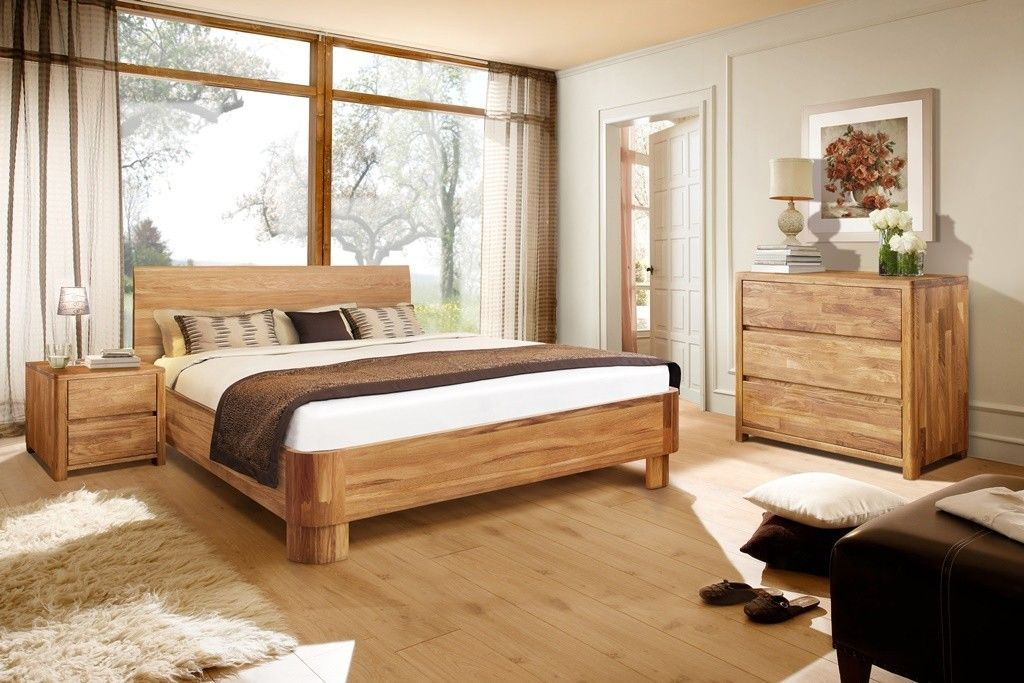 Спальня Стэнлес Лозанна (кровать, шкаф, комод, тумба) - фото 2