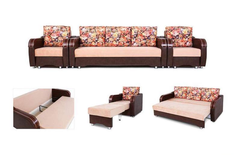 Кресло Апогей-Мебель Камилла 2 (кресло-кровать) - фото 4