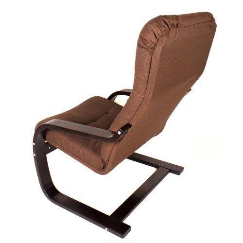 Кресло Greentree Сайма венге/ткань Кофе - фото 4