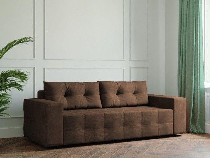Диван Настоящая мебель Ванкувер Мейсон (модель: 00-00000036) коричневый - фото 1