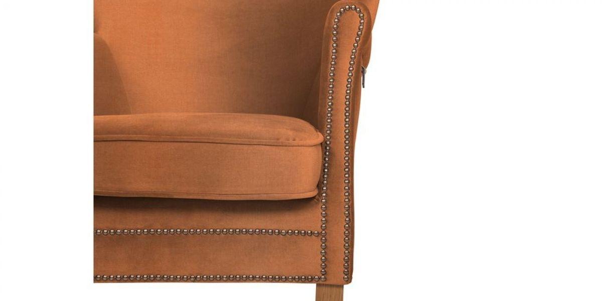 Кресло WOWIN Голден (Бледно-лососевый велюр) - фото 9
