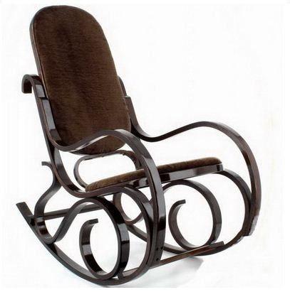Кресло Calviano M197 коричневый мех - фото 1