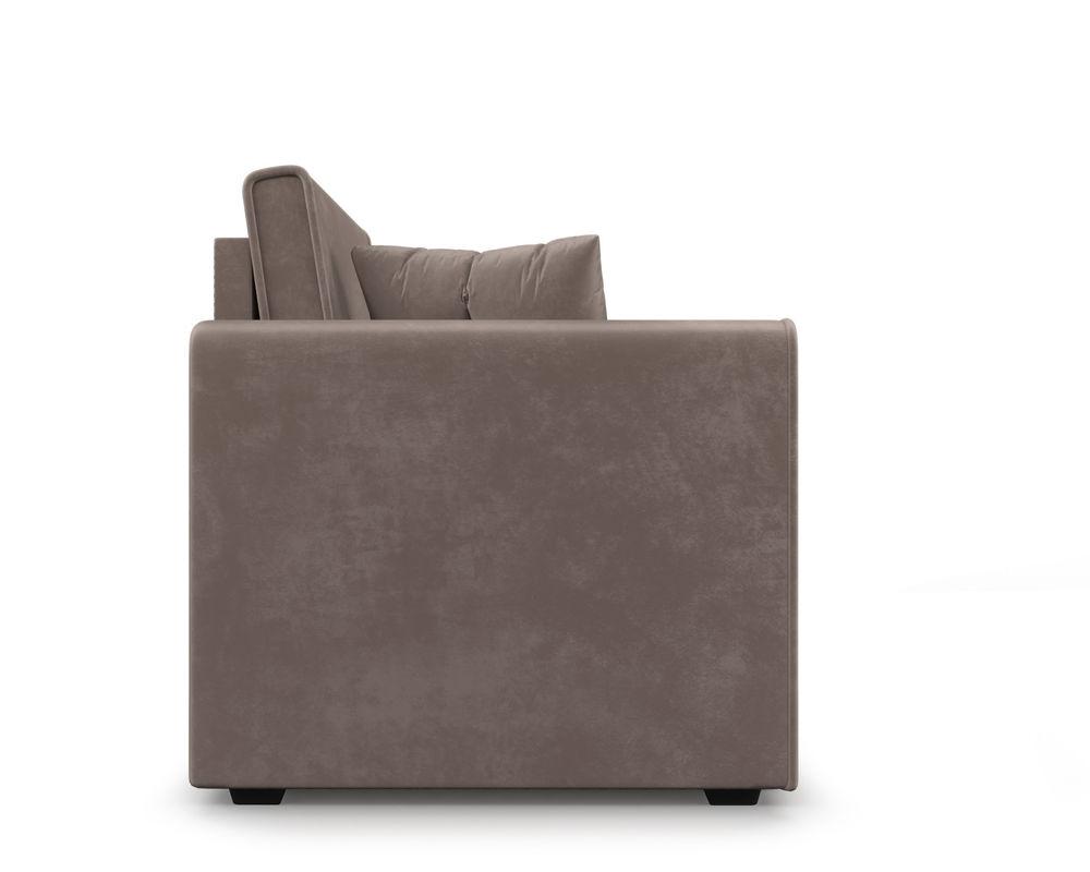 Кресло Мебель-АРС Санта (бархат серо-шоколадный) - фото 4