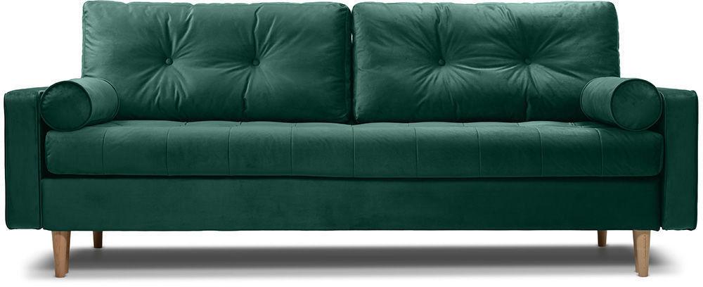 Диван Woodcraft Ситено Barhat Emerald - фото 1