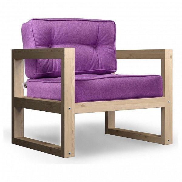 Кресло Anderson Астер AND_122set251, фиолетовый - фото 1
