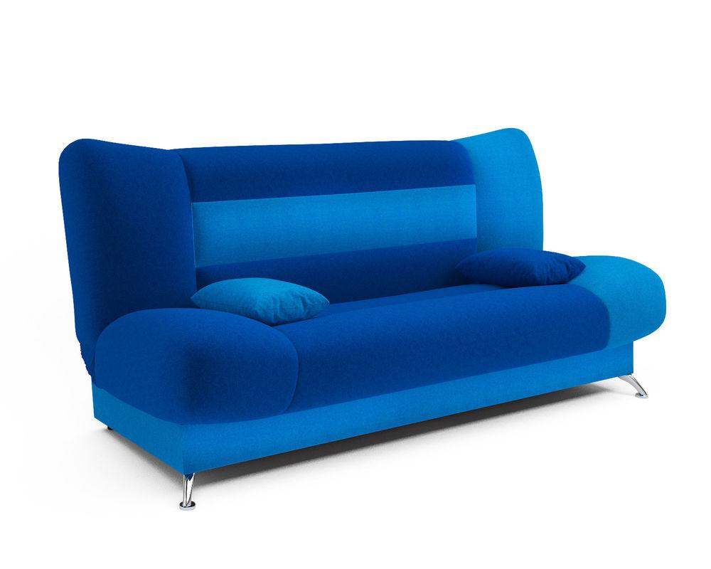 Диван Мебель-АРС Лодочка астра синяя - фото 2