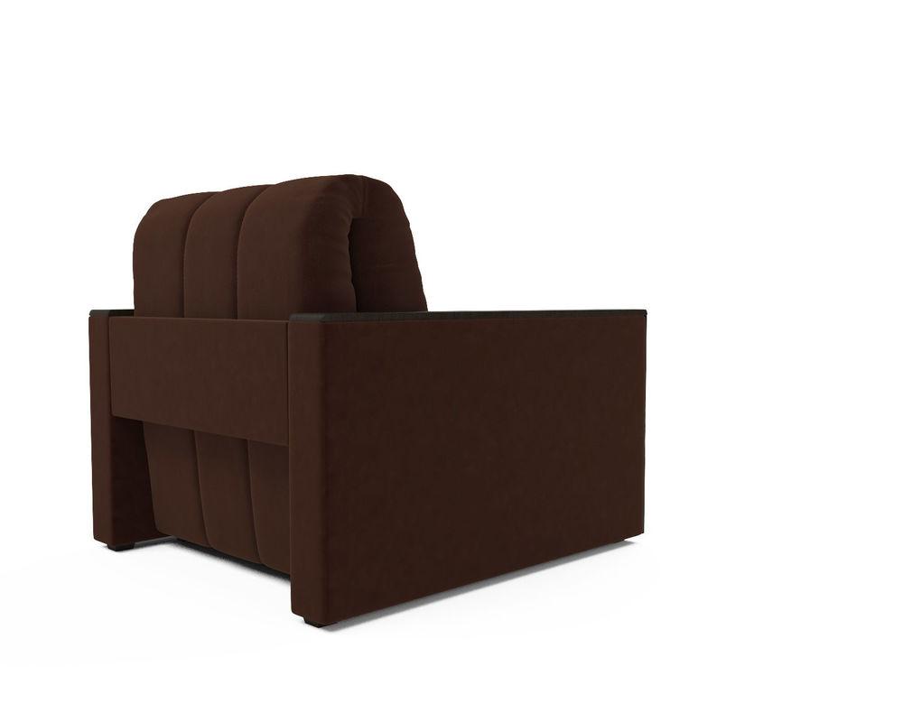 Кресло Мебель-АРС Техас коричневы Luna 092 (микровелюр) - фото 4