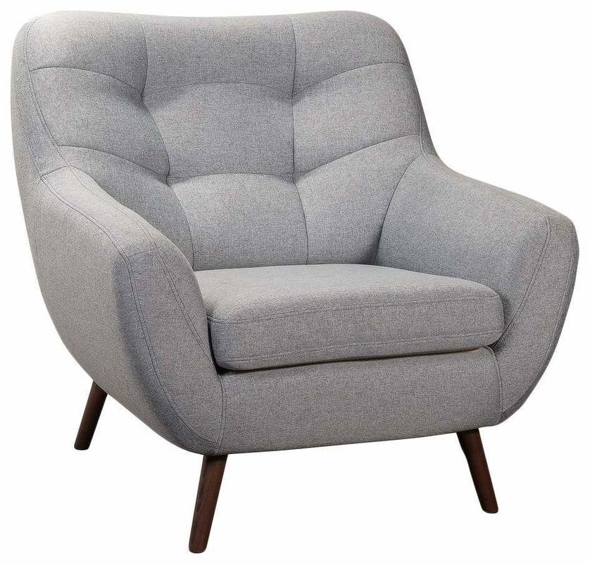 Кресло R-Home Сканди RST_4017222H_Gray, серый - фото 2