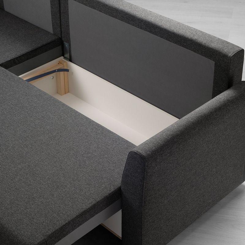 Диван IKEA Бриссунд темно-серый [804.481.81] - фото 5