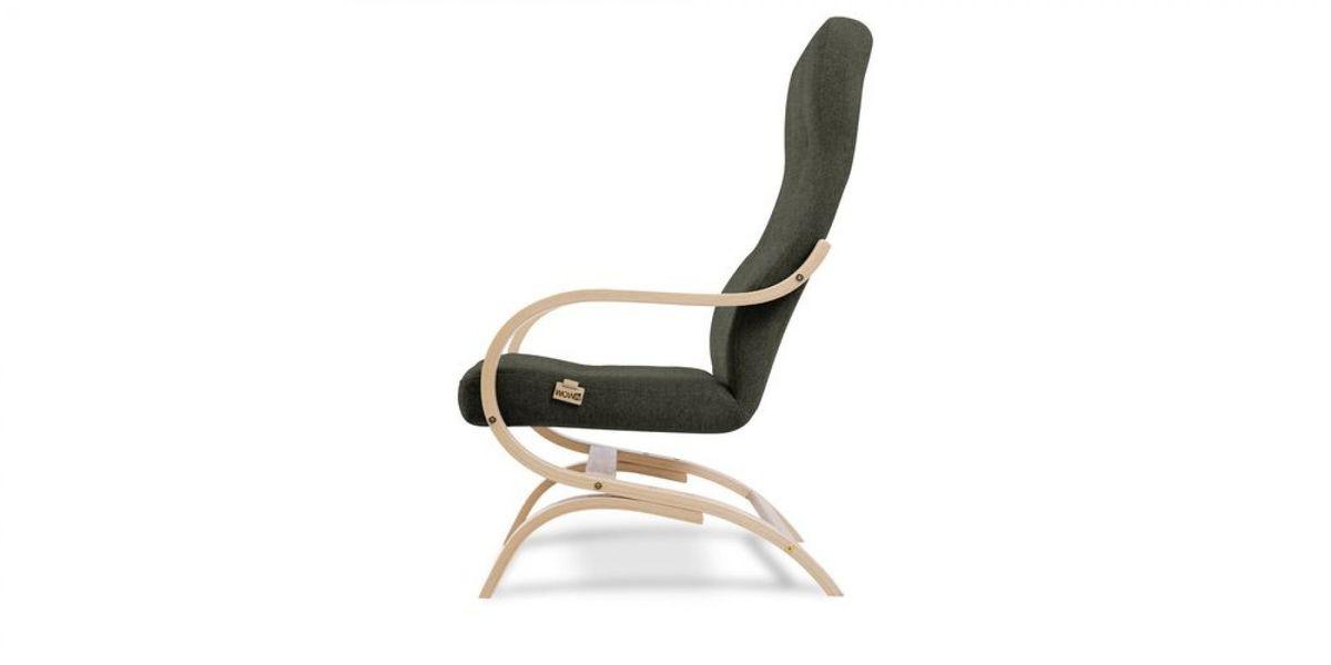 Кресло WOWIN Вейв (Темно-коричневый велюр) - фото 3