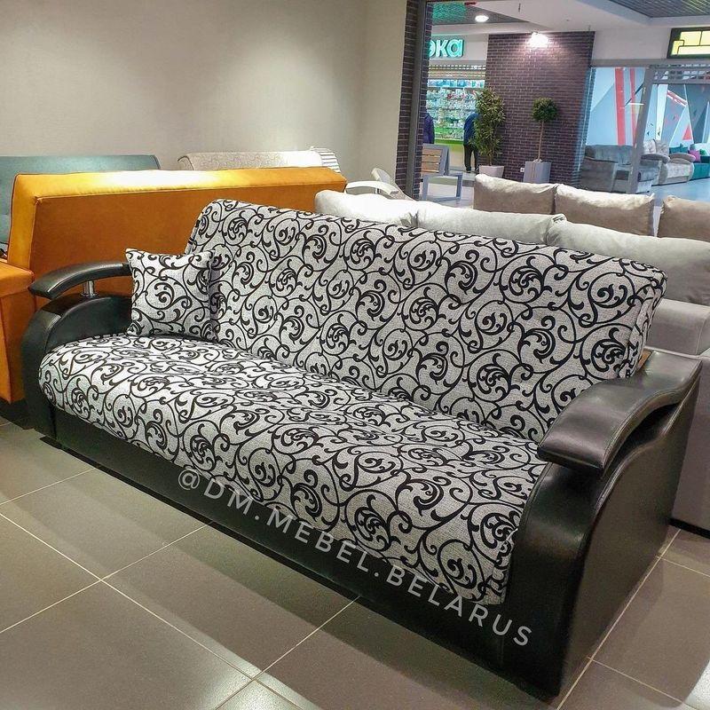 Диван DM-мебель Лаура (серый/коричневый) - фото 1