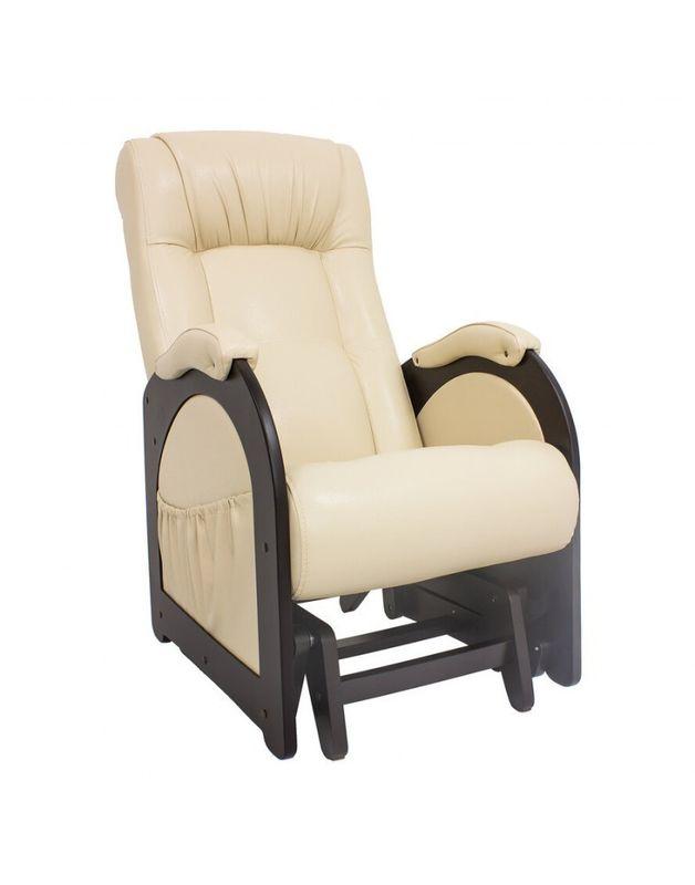 Кресло Impex Кресло-гляйдер Модель 48 б.л. экокожа (Антик-крокодил) - фото 3