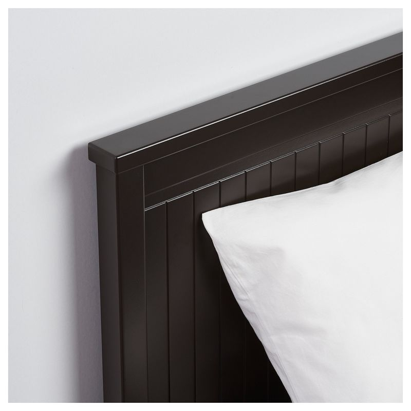 Диван IKEA Хемнэс с 2 матрасами/3-мя ящиками черно-коричневый [192.989.77] - фото 10