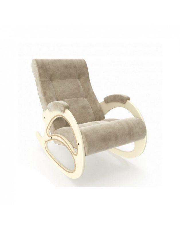 Кресло Impex Модель 4 Verona сливочный (Antrazite grey) - фото 5