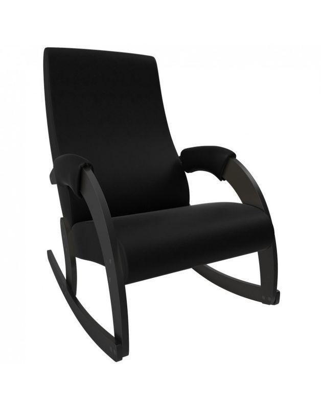 Кресло Impex Модель 67M  Экокожа (vegas lite black) - фото 1