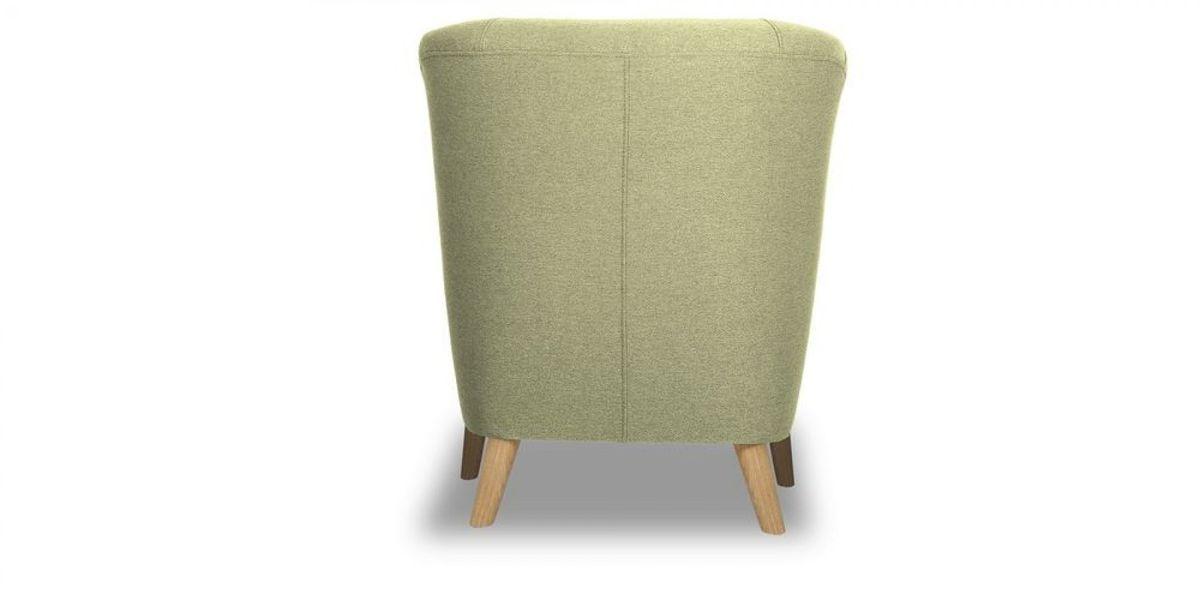Кресло WOWIN Ингрид (Серо-бежевая микророгожка) - фото 5