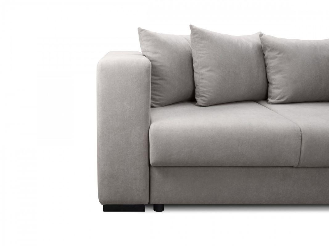 Диван Sonit Плаза Макси стандарт угловой 330x194.5x82 (Milton 01) - фото 5