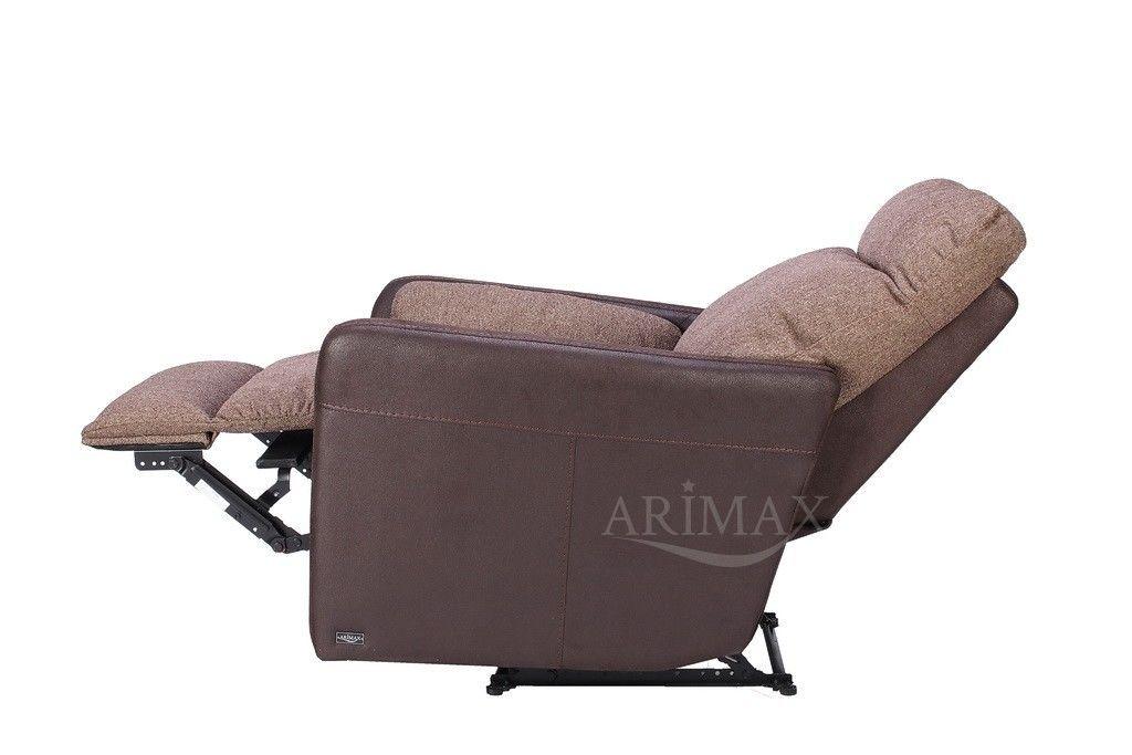 Кресло Arimax Мюррей (Шоколадная крошка/Пралине) - фото 5