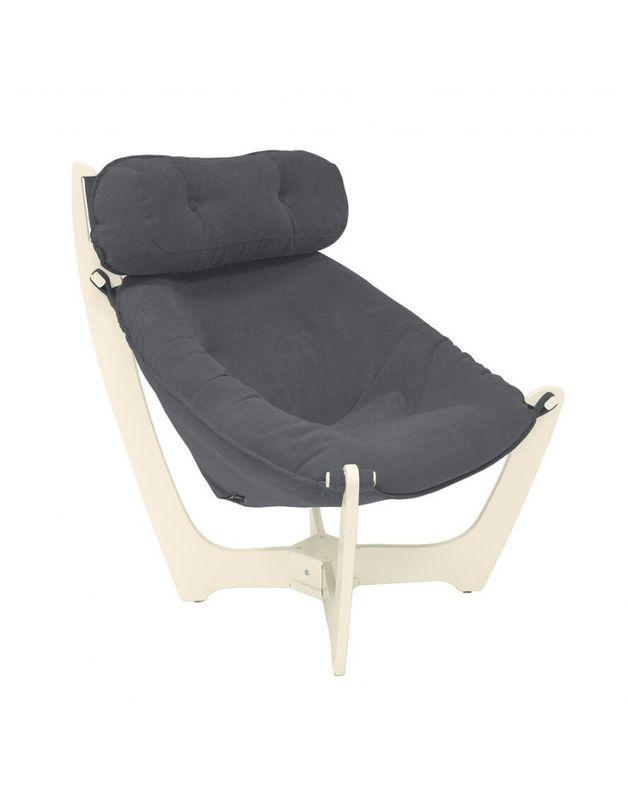 Кресло Impex Модель 11 verona сливочный (Antrazite grey) - фото 1