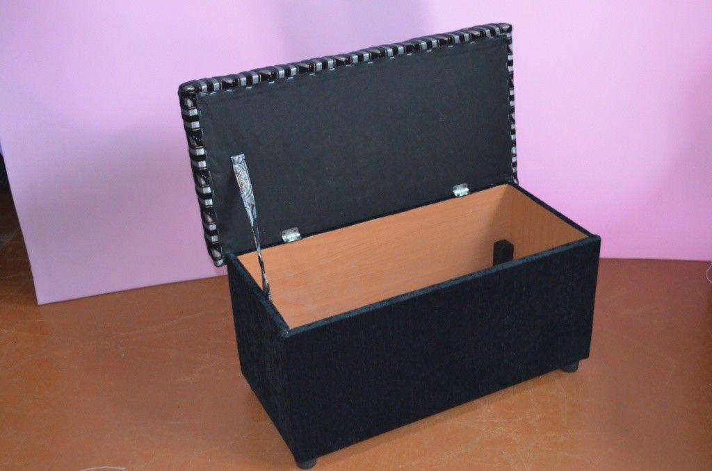 Пуфик Вливск-Мебель 40x80 с нишей - фото 2
