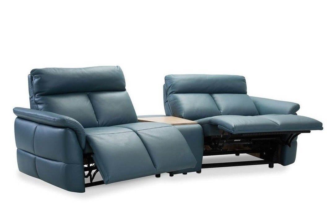 Набор мягкой мебели Gala Collezione Oviedo 285x103x102 (кожа) - фото 3